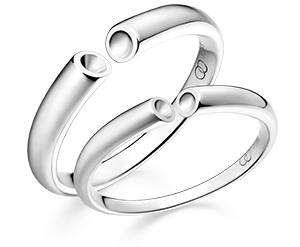 法兰西浪漫结婚对戒