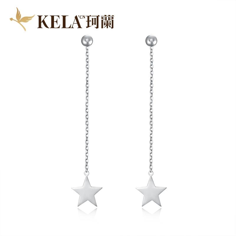 星光 18K金星型耳饰-凉生系列 剧中同款