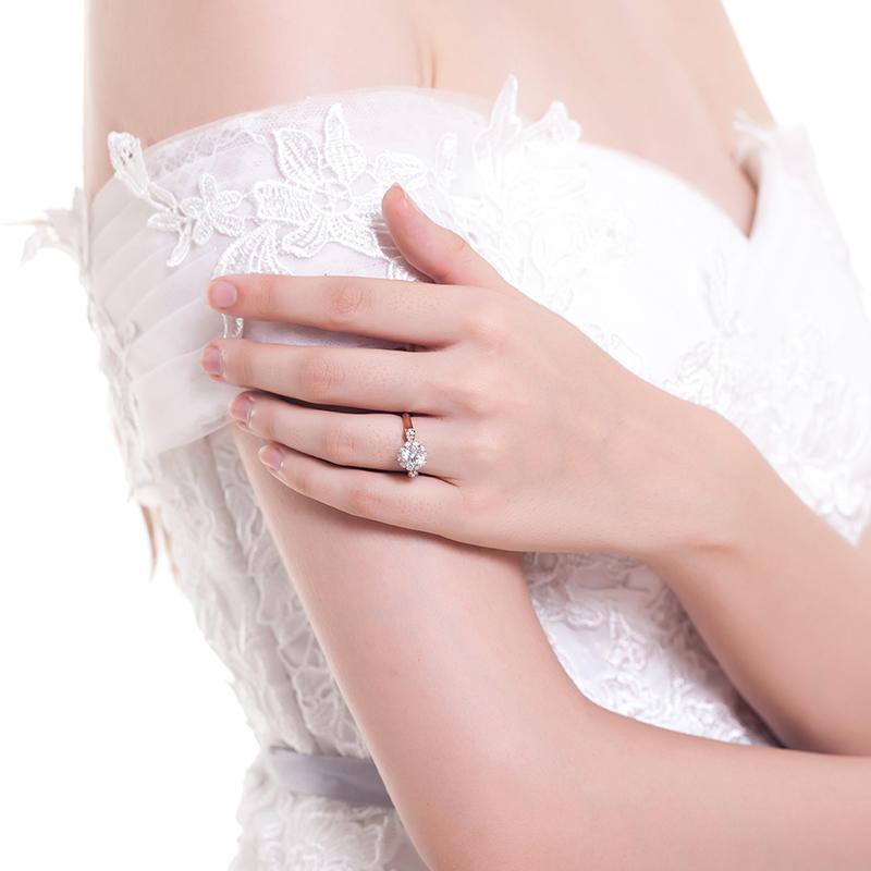 苏菲娅-香邂巴黎 18k金钻石女戒