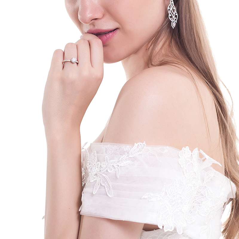 薇薇安-香邂巴黎 18k金钻石女戒
