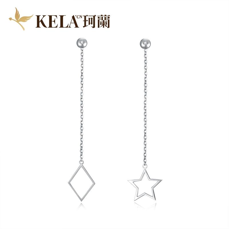 星海 18K金钻石耳饰-《凉生》系列 剧中同款